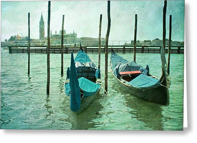 Paul Grand Greeting Cards - Venice Greeting Card by Paul Grand
