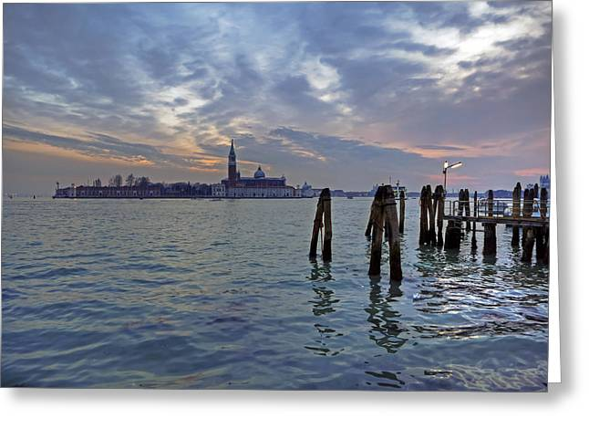 San Marcos Greeting Cards - Venice San Giorgio Maggiore Greeting Card by Joana Kruse