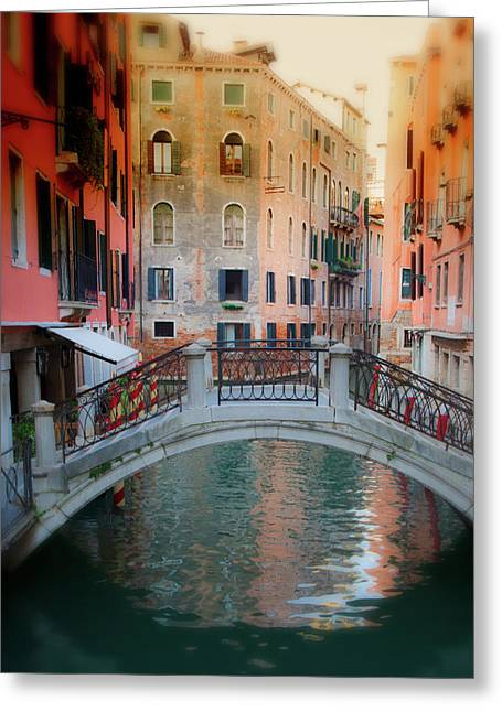Period Greeting Cards - Venice Visions Greeting Card by Eggers   Photography