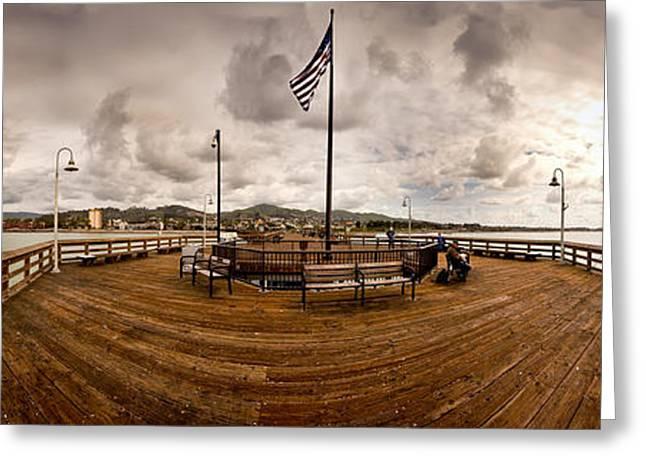 Ventura Pier Greeting Cards - Ventura Pier Greeting Card by Joe  Palermo