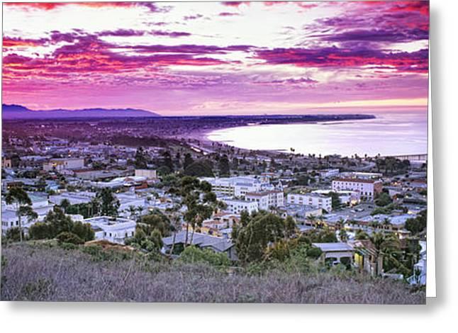 Ventura Pier Greeting Cards - Ventura Sunrise Greeting Card by Steve Munch