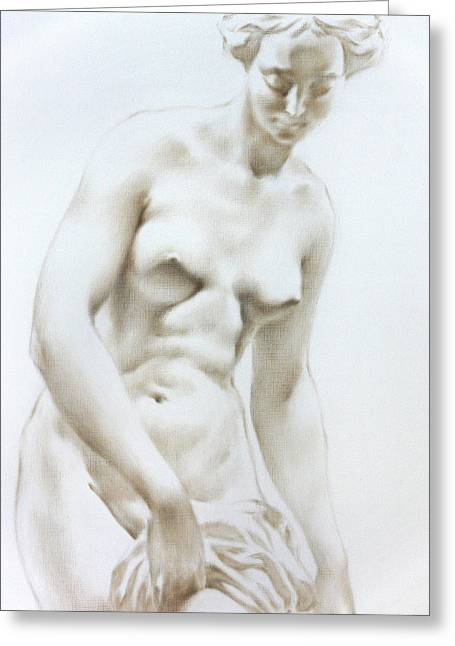 Valeriy Mavlo Greeting Cards - Venus1b Greeting Card by Valeriy Mavlo