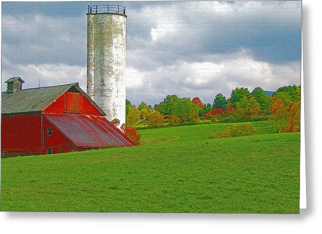 Openness Greeting Cards - Vermont Farmland 2 Greeting Card by Steve Ohlsen