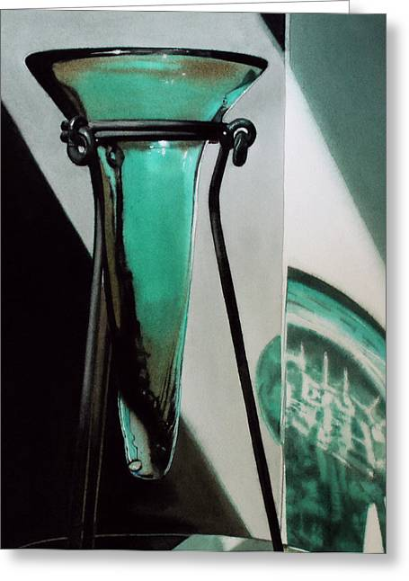 Super Realism Paintings Greeting Cards - Vessel Greeting Card by Denny Bond