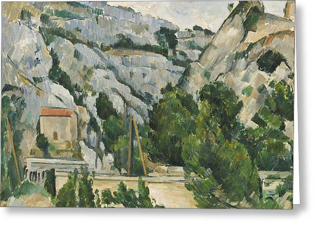 South Of France Greeting Cards - Viaduct at lEstaque Greeting Card by Paul Cezanne