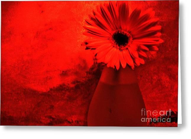 Shadows Posters Greeting Cards - Vibrant Shadows Greeting Card by Marsha Heiken