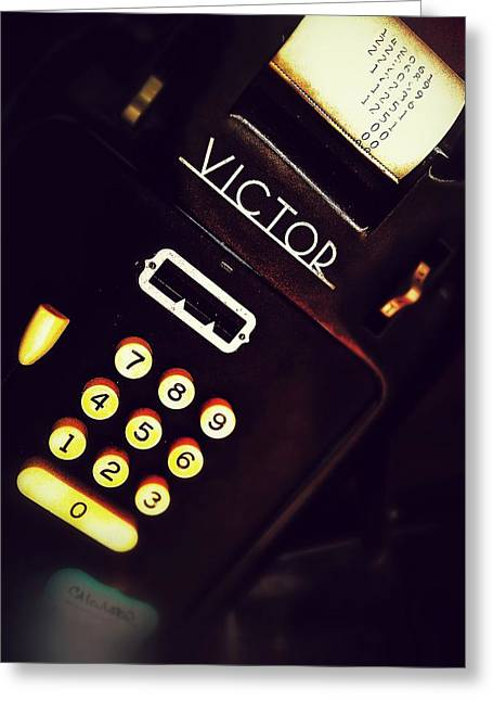 Victor's Accounting Greeting Card by Olivier Calas