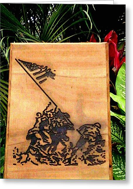 Soldier Reliefs Greeting Cards - Victory Greeting Card by Calixto Gonzalez