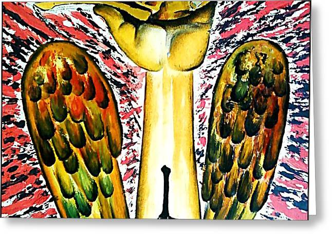 Victory Of Perseverance Greeting Card by Paulo Zerbato