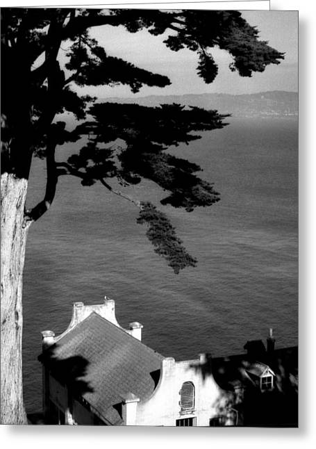 Best Sellers -  - Alcatraz Greeting Cards - View From Alcatraz Greeting Card by Todd Fox