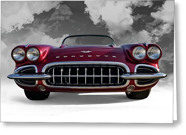 Vette Greeting Cards - View From Cloud 9 Greeting Card by Douglas Pittman