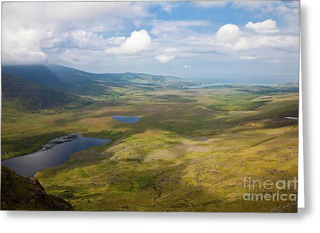 Connors Greeting Cards - View from Connor Pass Greeting Card by Gabriela Insuratelu