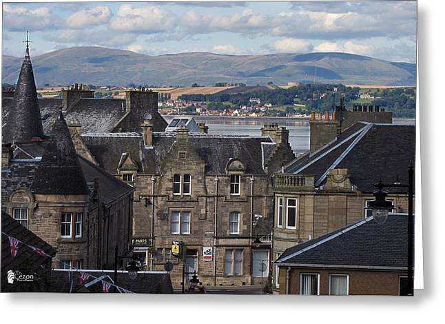 Frith Greeting Cards - View of Boness Greeting Card by Jose Luis Cezon Garcia