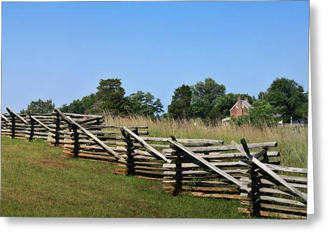 Civil Greeting Cards - View of Clover Hill Tavern Appomattox Court House Virginia Greeting Card by Teresa Mucha