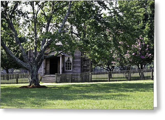 April 9 1865 Greeting Cards - View of Jones Law Offices Appomattox Virginia Greeting Card by Teresa Mucha