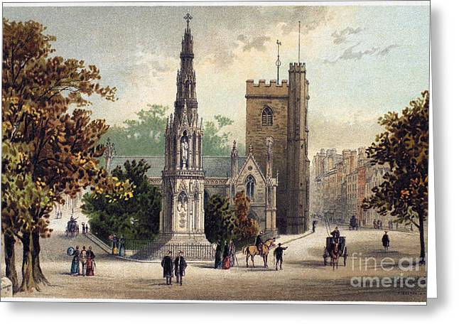 VIEW OF OXFORD, c1885 Greeting Card by Granger