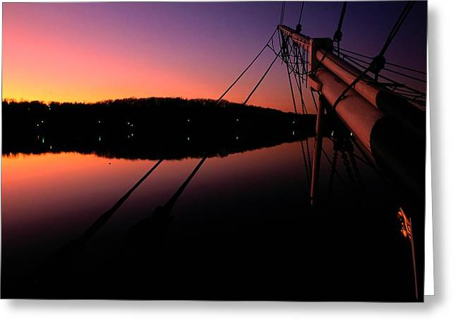 Long Island Sound Greeting Cards - View Of The Bow Of The Charles W Greeting Card by Joel Sartore