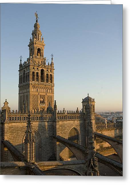 Krista Greeting Cards - View Of The Giralda Tower Greeting Card by Krista Rossow