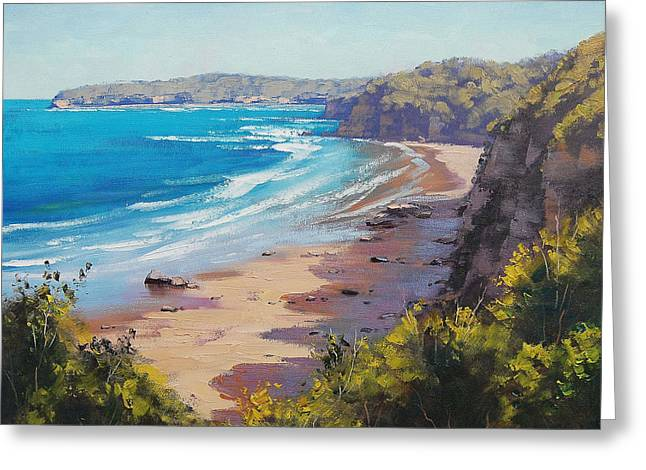 Central Coast Greeting Cards - View to Norah Head Greeting Card by Graham Gercken