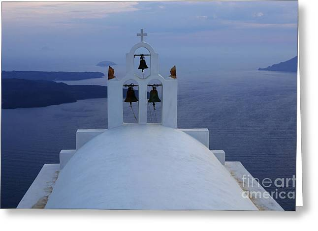 On The Edge Greeting Cards - View To The Mediterranean Sea Greeting Card by Bob Christopher