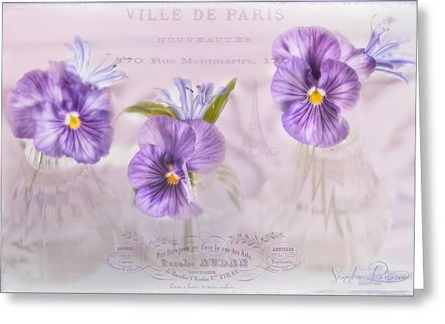 Ville De Paris Greeting Card by Sandra Rossouw