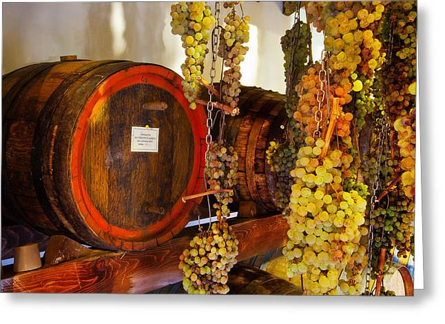 Chianti Greeting Cards - Vin Santo-Italy Greeting Card by John Galbo