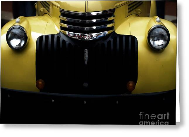 Chevrolet Pickup Truck Digital Greeting Cards - Vintage Chevy Pickup Truck Greeting Card by Steven  Digman
