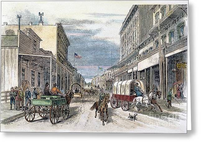 Virginia City, Nevada Greeting Card by Granger