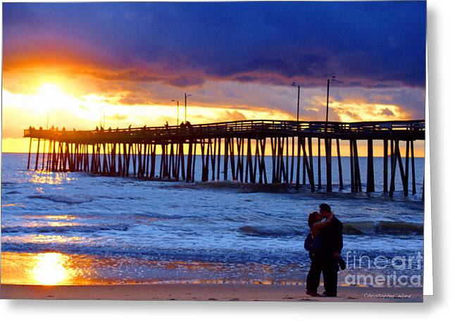 Beach Photos Greeting Cards - Virginia Is for lovers Greeting Card by Christopher  Ward