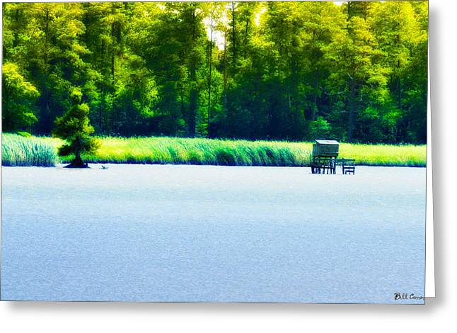 Virginia Tides Greeting Card by Bill Cannon