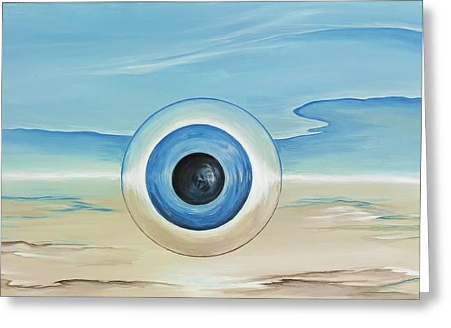 David Junod Greeting Cards - Vision Thing Greeting Card by David Junod