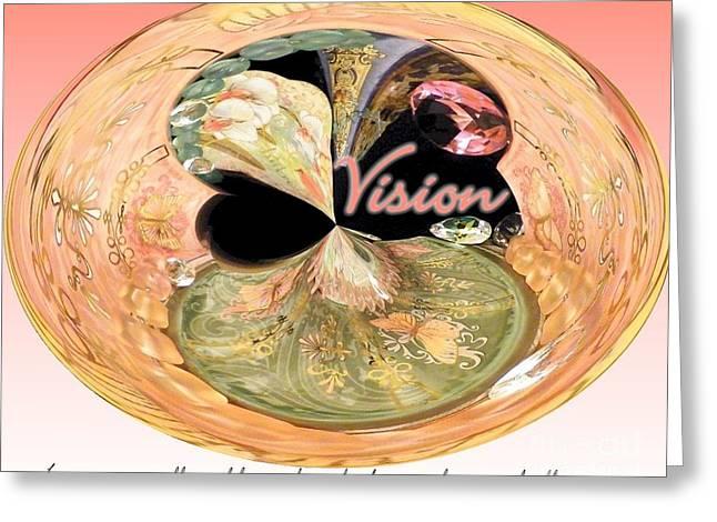 Visionary Artist Digital Art Greeting Cards - Visionary Artist Greeting Card by Laurence Oliver