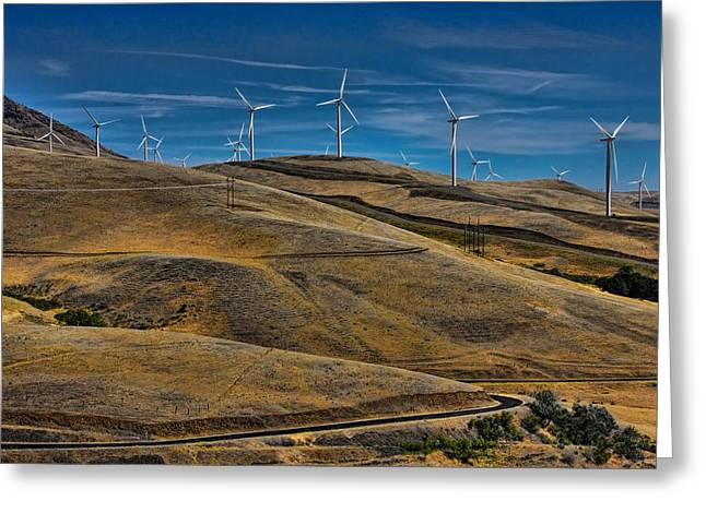 Yakima Valley Greeting Cards - Visual Pollution Greeting Card by Tim Perry