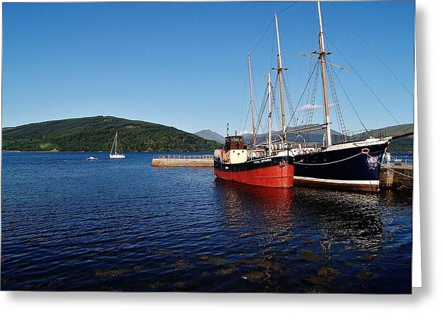 Inverarary Greeting Cards - Vital Spark Greeting Card by Laura McGlinn Photography