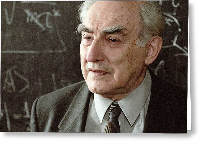 Surname G Greeting Cards - Vitaly Ginzburg, Russian Physicist Greeting Card by Ria Novosti