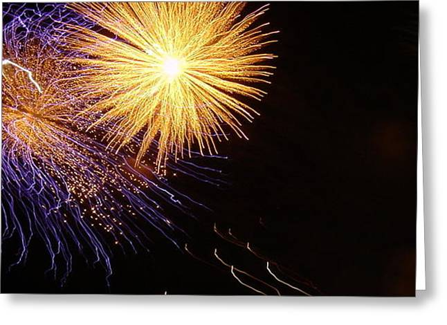 4th July Photographs Greeting Cards - Viva La Celebration Greeting Card by John Julio