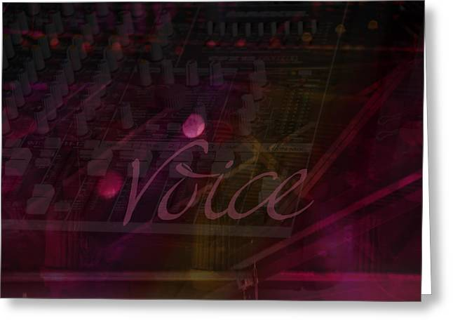 Best Sellers -  - Processor Greeting Cards - Voice Greeting Card by Affini Woodley