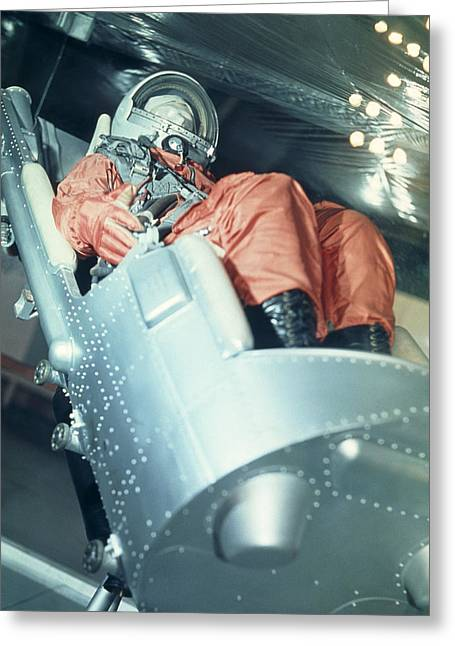Ejection Greeting Cards - Vostock Ejection Seat Greeting Card by Ria Novosti