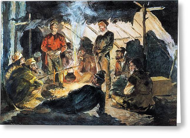 Voyageurs Greeting Cards - Voyageurs Greeting Card by Granger
