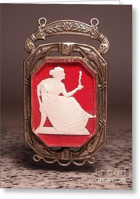 Victorian Jewelry Greeting Cards - W1 14 Greeting Card by Dwight Goss