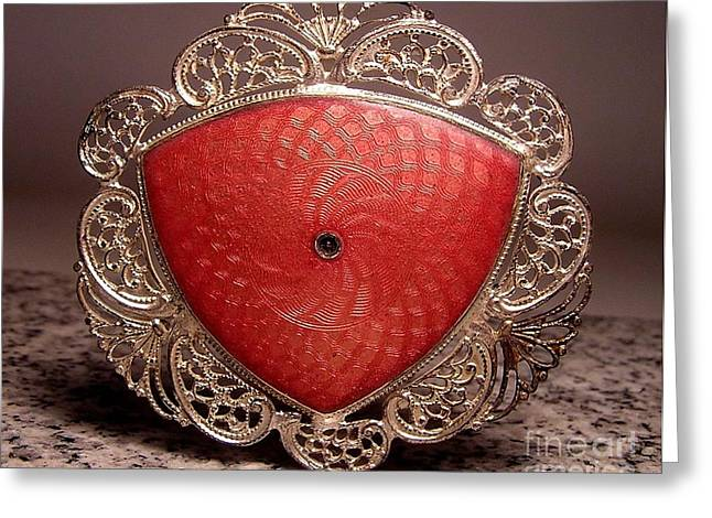 Victorian Jewelry Greeting Cards - W1 3 Greeting Card by Dwight Goss