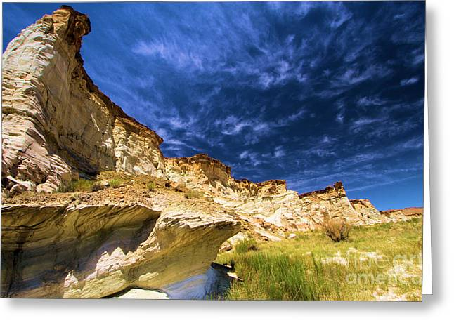 Wahweap Greeting Cards - Wahweap Hoodoo Trail Greeting Card by Adam Jewell