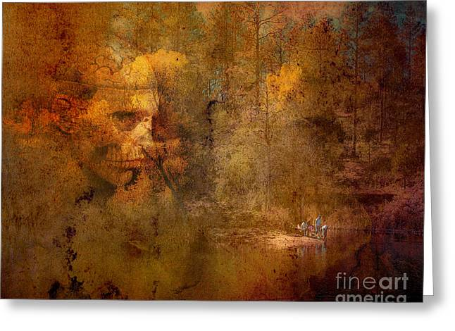 Prescott Greeting Cards - Waiting Greeting Card by Arne Hansen