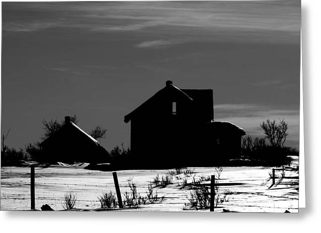 Farm Framed Prints Greeting Cards - Waiting By The Pain Greeting Card by Jerry Cordeiro