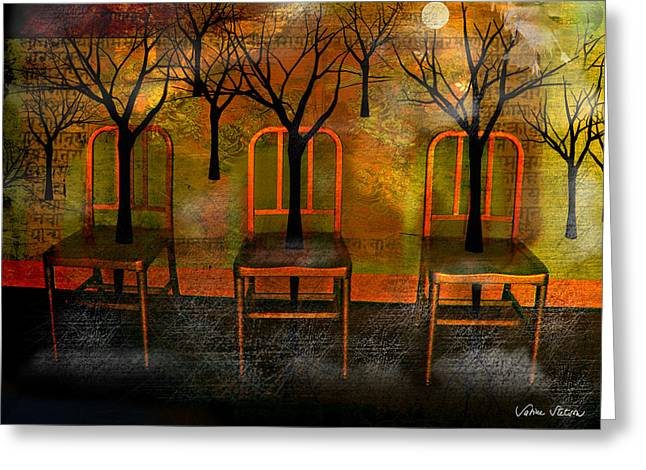 Waiting for a miracle Greeting Card by Sabine Stetson