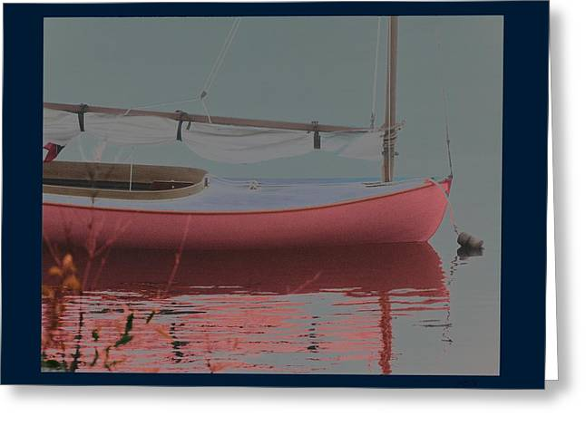 Waiting To Sail Greeting Card by Rene Crystal