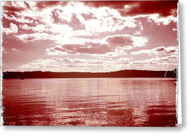 Wakeby Pond Greeting Card by Frank Winters