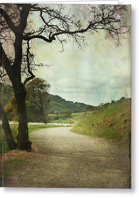 Walk Of Life Greeting Card by Laurie Search