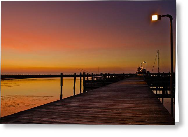Sunset Prints Greeting Cards - Walk to Freedom Greeting Card by Jason Naudi Photography