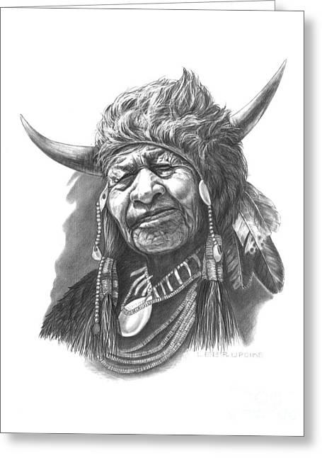 Alberta Framed Prints Greeting Cards - Walking Buffalo Greeting Card by Lee Updike